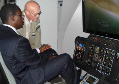 Abdoulaye NDIAYE, Abdoulaye Mady NDIAYE Simulateur Helicoptere NIIAO