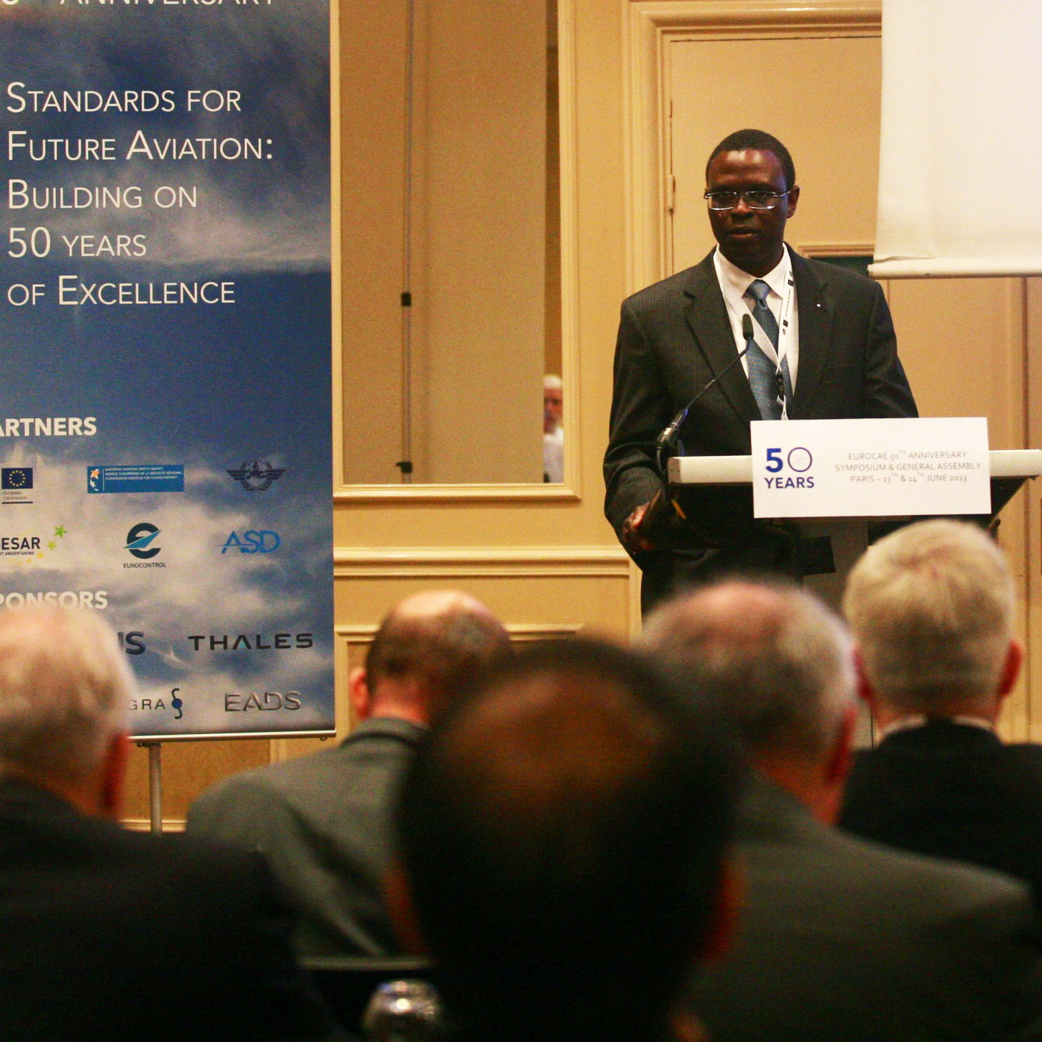 Abdoulaye NDIAYE, Abdoulaye Mady NDIAYE- EUROCAE Sec Gen