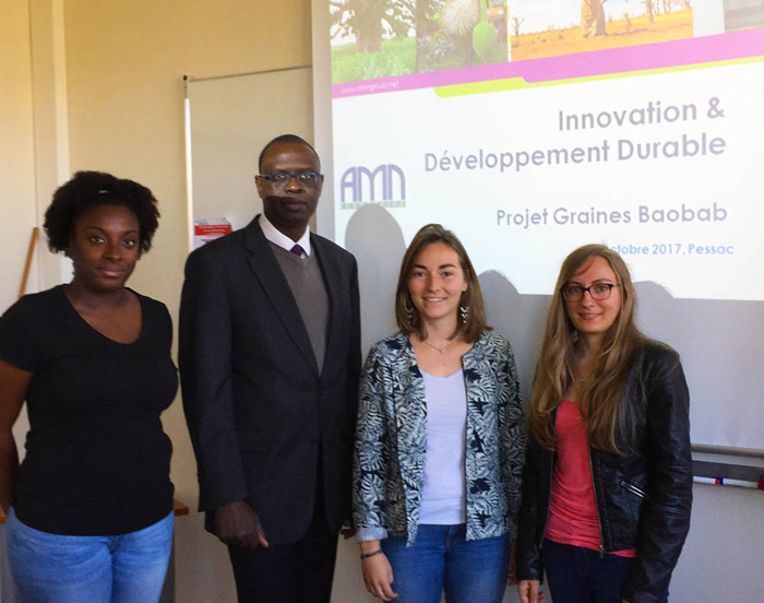 Abdoulaye NDIAYE President and CEO AMN Group NAW - UNIVERSITE DE BORDEAUX I