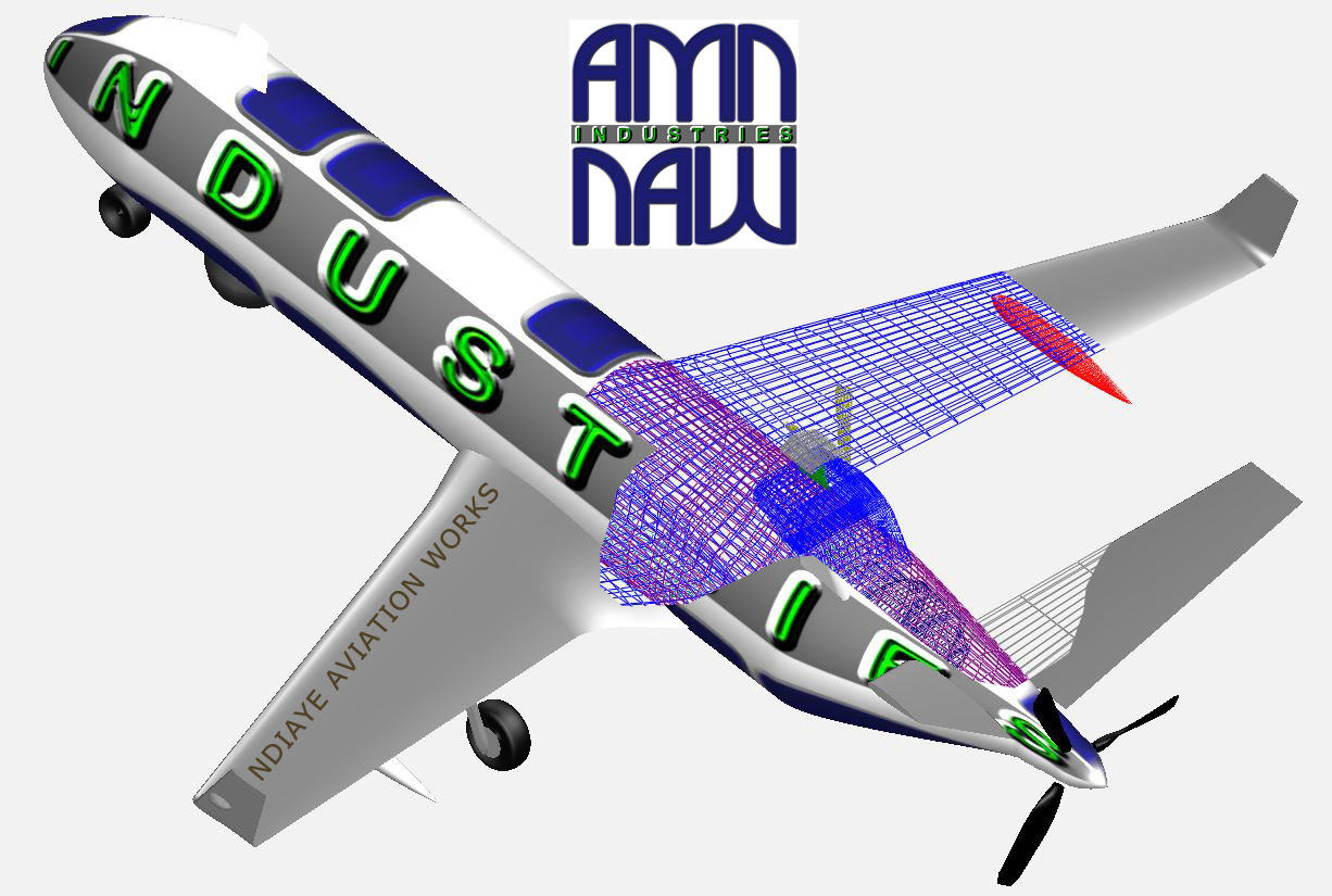 Abdoulaye NDIAYE AMN Industries - NDIAYE AVIATION WORKS KS-45 Aircraft
