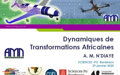 AMN GROUP at Sciences-Po Bordeaux at Montaigne University during African Weeks of the LAM Institute