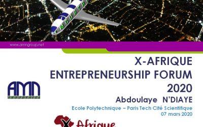 AMN Group at X-Afrique Forum Entrepreneur 2020